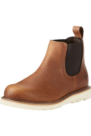 Ariat Men's Recon Mid Boots in Golden Grizzly Leather