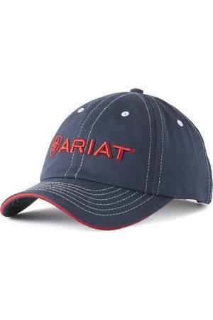 Ariat Team II Cap in Navy/Red Cotton Twill