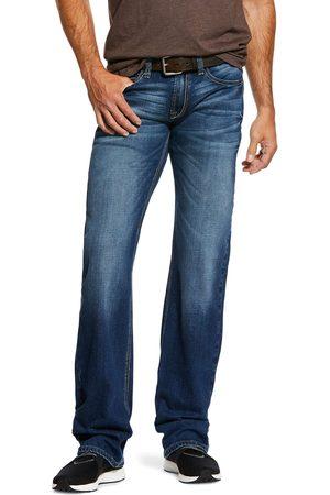 Ariat Homme Coupe droite - Men's M7 Rocker Stretch Nassau Stackable Straight Leg Jeans in Summit Cotton