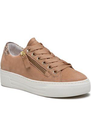 Gabor Femme Baskets - Sneakers - 66.465.34 Caramel/CAmel