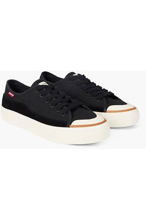 Levi's Square Low Shoes / Regular Black