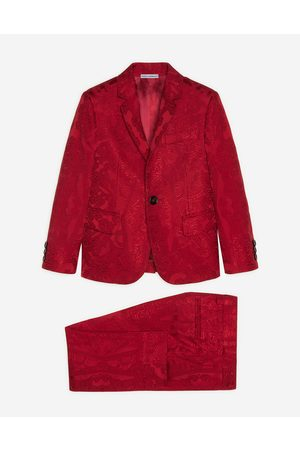 Dolce & Gabbana Homme Costumes - Costumes - SINGLE-BREASTED SUIT IN ORNAMENTAL JACQUARD male 6