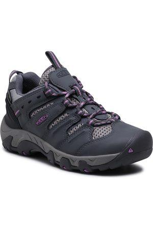 Keen Femme Chaussures basses - Chaussures de trekking - Koven Wp W 1025157 Steel Grey/African Violet