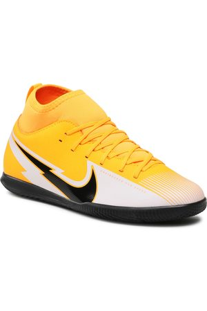 Nike Garçon Chaussures - Chaussures - Jr Superfly 7 Club Ic AT8153 801 Laser /black/White
