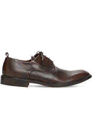 ERNESTO DOLANI Chaussures À Lacet En Cuir 30 Mm