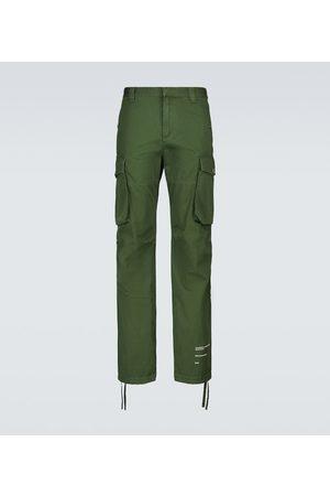 OFF-WHITE Pantalon cargo en coton