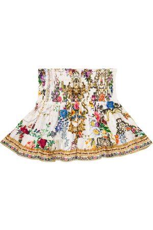 Camilla Jupe en coton à fleurs
