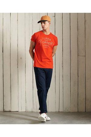 Superdry Homme Chinos - Pantalon chino slim Core