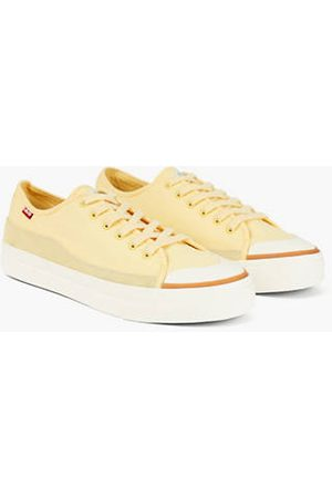 Levi's Square Low Shoes / Light Yellow