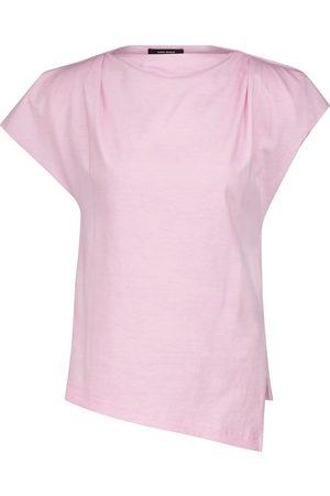 Isabel Marant Femme Manches courtes - T-shirt Sebani en coton