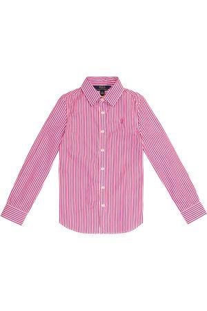 Ralph Lauren Chemise rayée en coton