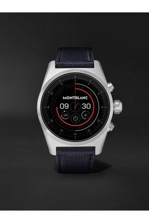 Mont Blanc Homme Montres - Summit Lite 43mm Aluminium and Nylon Smart Watch, Ref. No. 128411