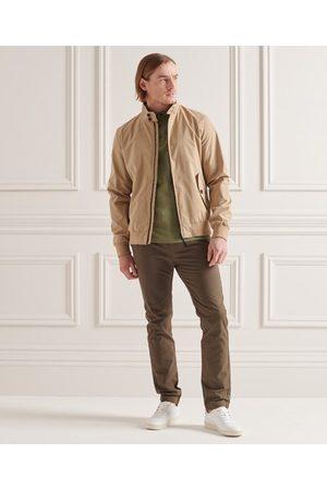 Superdry Homme Polos - Polo en jersey de coton biologique texturé