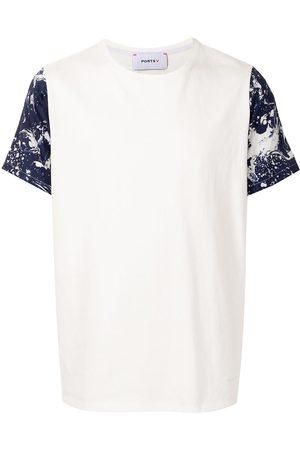Ports V T-shirt à effet taches de peinture