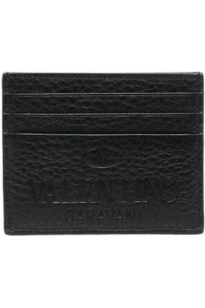 VALENTINO GARAVANI Porte-cartes à logo embossé