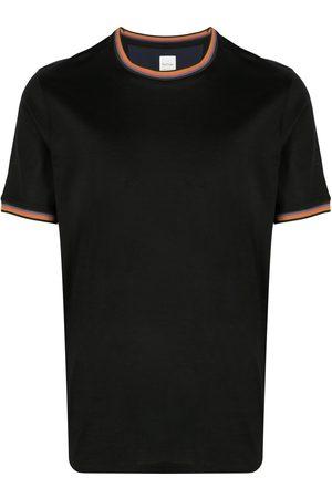 Paul Smith Homme Débardeurs - T-shirt à bords rayés