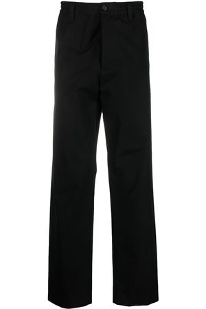 Marni Homme Pantalons coupe droite - Pantalon droit en coton