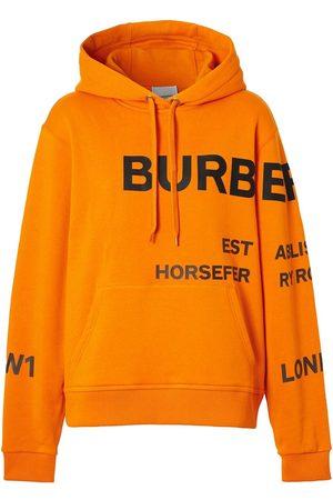 Burberry Hoodie à logo imprimé