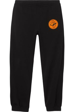 Burberry Pantalon de jogging à détail appliqué