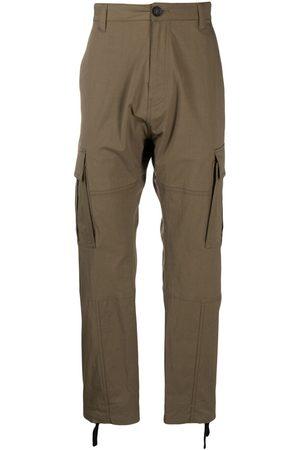 MARCELO BURLON Pantalon droit à poches cargo