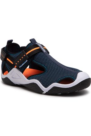 Geox Sandales - J Wader B. A J1530A 00014 C4074 S Navy/Orangefluo