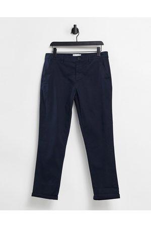 ASOS Pantalon chino ajusté - marine