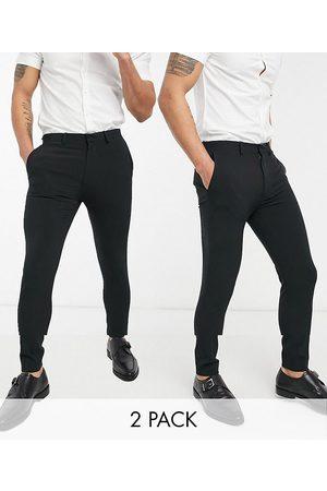 ASOS Lot de pantalons habillés super ajustés