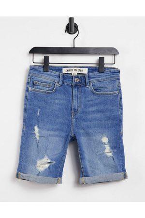 New Look Short en jean skinny avec déchirures