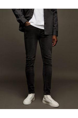 Topman Jean skinny stretch - Noir délavé
