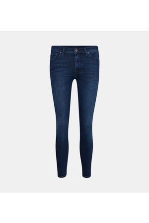 7 for all Mankind Jean skinny Illusion Starry effet délavé