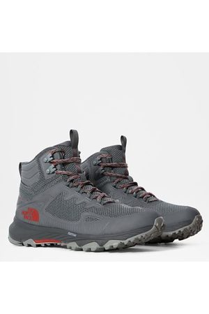 The North Face Chaussures Ultra Fastpack Iv Futurelight™ Pour Femme High Rise Grey/horizon Red Taille 36