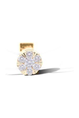 PERSÉE Bague Imagine ronde diamant