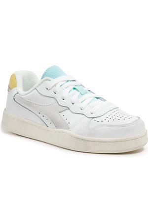 Diadora Sneakers - Mi Basket Low Icona Wn 501.177079 01 C9160 White/Goldfinch/Blue Tint