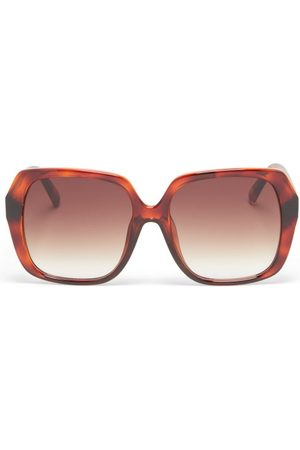 Le Specs Lunettes de soleil carrées oversize FroFro