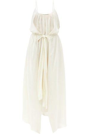 Raey Femme Robes - Robe à taille élastique et naud sur le devant