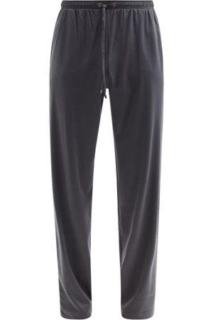 Zimmerli Pantalon de jogging en jersey de coton mélangé