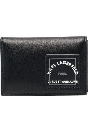 Karl Lagerfeld Portefeuille à logo imprimé