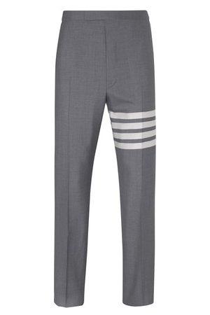 Thom Browne Homme Pantalons classiques - Pantalon en laine 4-Bar