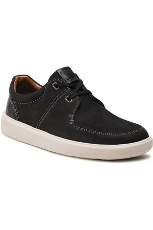 Clarks Chaussures basses - Cambro Lace 261582477 Black Nubuck