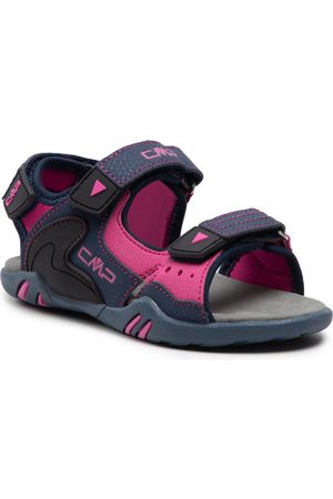 CMP Sandales - Kids Alphard Hiking Sandal 39Q9614 Blue/Malva 28MG