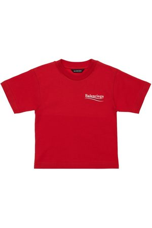 Balenciaga Fille T-shirts - T-shirt En Coton Biologique