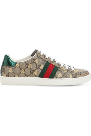 """Gucci Sneakers En Toile """"new Ace Gg Supreme"""" 20 Mm"""
