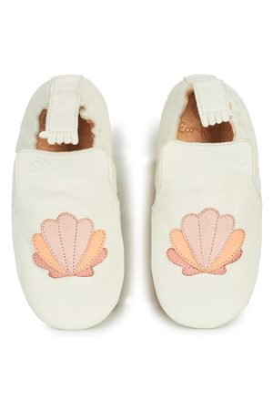 Easy Peasy Fille Chaussons - Chaussons enfant BLUBLU COQUILLE