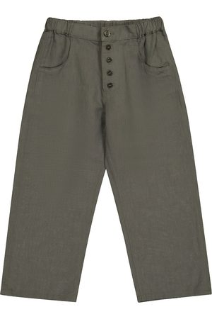 Caramel Pantalon Barnacle en lin et coton
