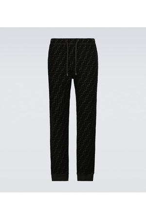 Fendi Homme Pantalons - Pantalon de survêtement FF en velours