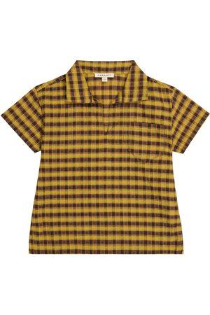 Caramel Fille Chemisiers - Chemise Albacore en coton à carreaux