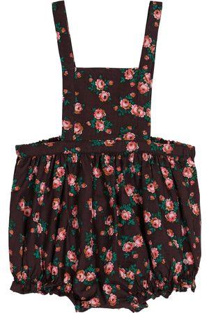 Caramel Bébé – Salopette Clam en coton à fleurs