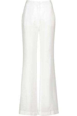 GABRIELA HEARST Pantalon ample Sonya à taille haute en lin