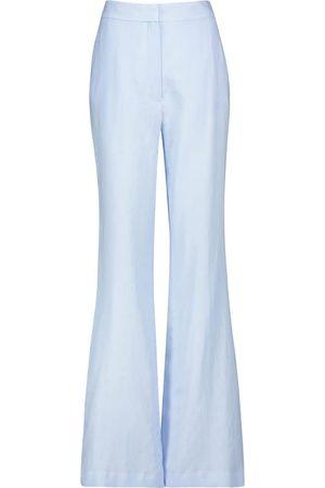 GABRIELA HEARST Femme Pantalons larges - Pantalon ample Sonya à taille haute en lin
