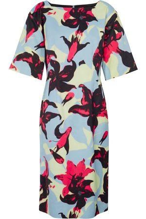 DRIES VAN NOTEN Femme Robes imprimées - Robe midi à fleurs